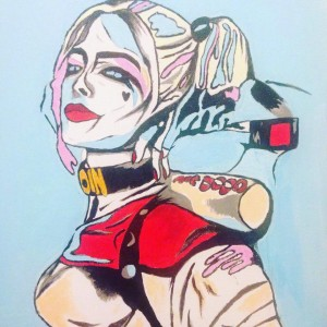 Harley Quinn by Taara Petts