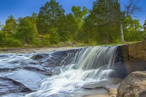 The Falls at Flat Rock by Thomas Vasas