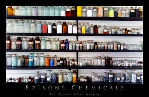 Edison's Chemicals by Tim Warris Photography