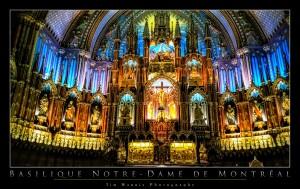 Basilique Notre-Dame De Montreal by Tim Warris Photography