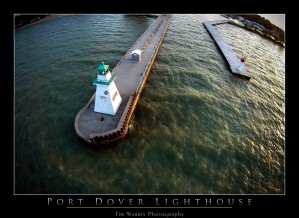 The Port Dover Lighthouse by Tim Warris Photography