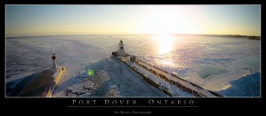 Frozen Lake Erie by Tim Warris Photography