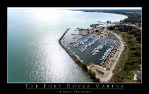 The Port Dover Marina by Tim Warris Photography