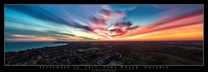 September Sunset by Tim Warris Photography