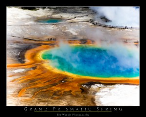 The Grand Prismatic Spring by Tim Warris Photography