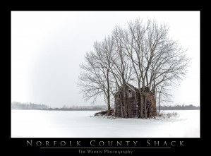 Norfolk County Shack by Tim Warris Photography