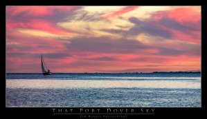 Port Dover Pink by Tim Warris Photography
