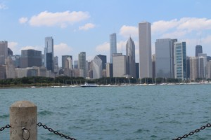 Chicago from the other side by Valriv