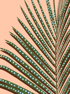 Tropical Leaf 9 by Vitor Costa