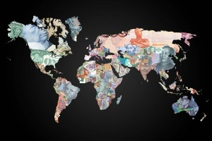 World map country flag worldflag canvas world map currencies gumiabroncs Gallery