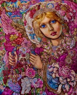 Angel Of Christmas.Yumi Sugai Art Collection