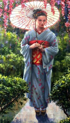 Geisha by kropovinskiy
