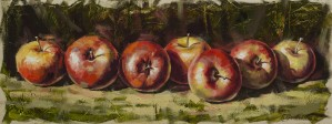 Kitchen Still Life, apples by kropovinskiy
