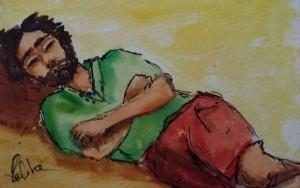 La sieste  by lalitavv