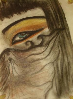 Regard égyptien  by lalitavv