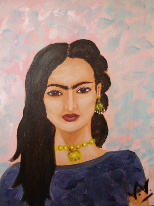 Portrait Friday Kalho by lalitavv