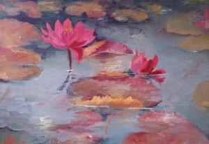 waterlillies  by Vali Irina Ciobanu by vali irina ciobanu