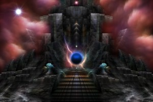The Realm Of Osphilium Fantasy Landscape Fractal Composition by xzendor7