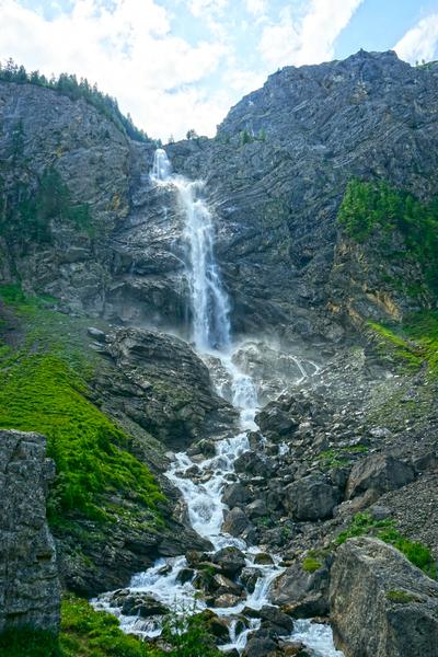 Engstligen Falls Adelboden Switzerland in the Bernese Highlands Digital Download