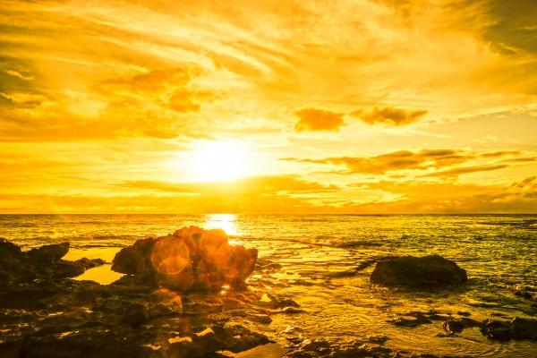 Majestic Sunset - Hawaiian Islands Digital Download
