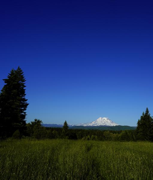 Mount Rainier at Sunset Pacific Northwest Washington State Digital Download
