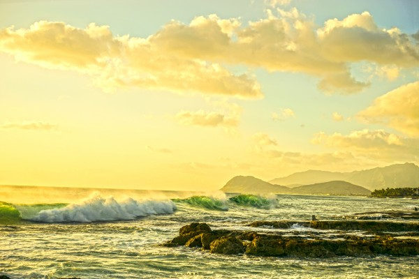 Perfect Day - Sunset Hawaiian Islands Digital Download