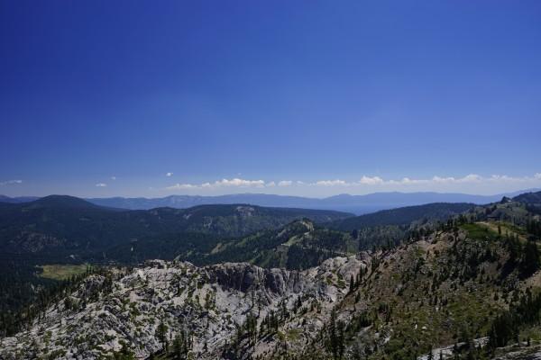View from the Top Lake Tahoe California Digital Download