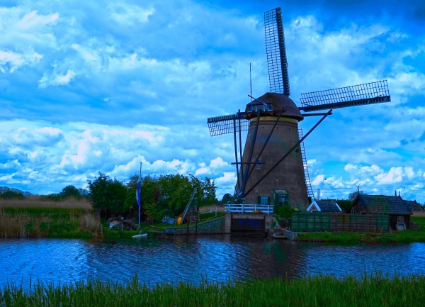 Windmill After the Storm Digital Download