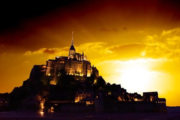 Majestic Mount Saint Michael Digital Download