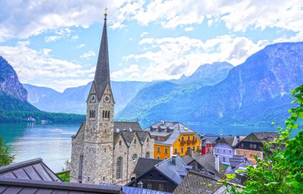 One Fine Day in Hallstatt Austria Digital Download