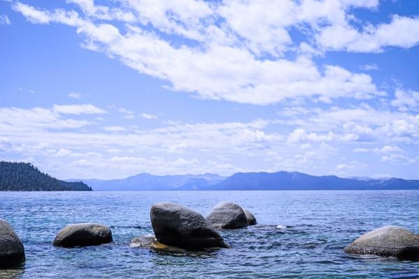 Perfect Day at the Lake - California Digital Download