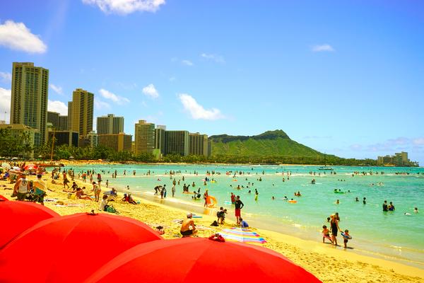 Waikiki Snapshot in Time 1 of 4 Digital Download