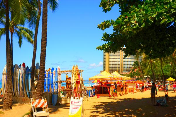 Waikiki Snapshot in Time 2 of 4 Digital Download