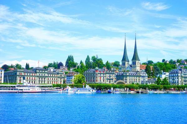 Waterfront   Lucerne Switzerland 1 of 3 Digital Download