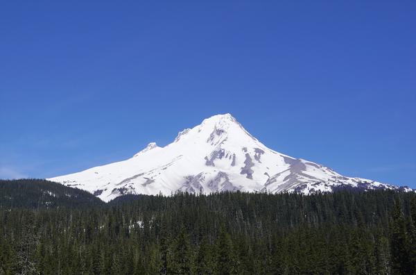 Blue Skies over Mount Hood Digital Download