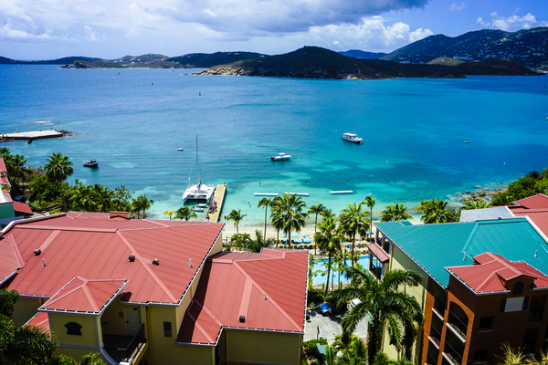 Frechmans Cove Saint Thomas US Virgin Islands in the Caribbean by 360 Studios