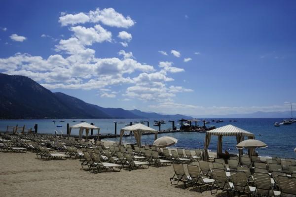 Lake Tahoe Day at the Beach - Tahoe California USA by 360 Studios