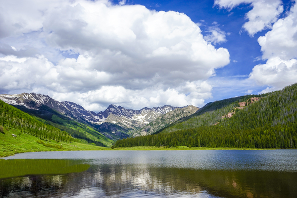 Mountains and Lake   Piney River Ranch   Vail Colorado by 360 Studios