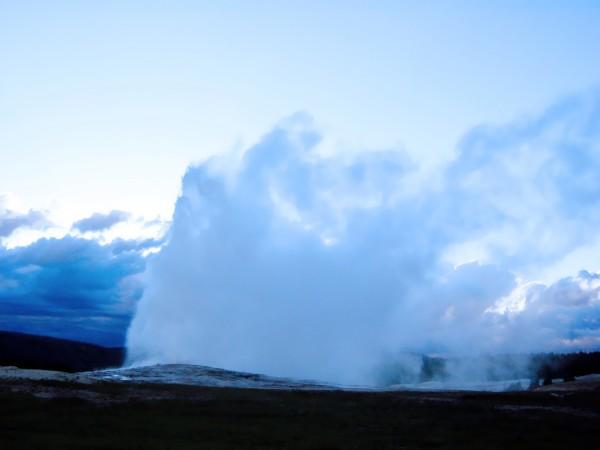 Old Faithful   Yellowstone Digital Download