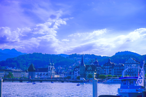 On the Shores of Lake Lucerne Digital Download