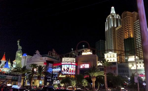 One Night in Las Vegas   Hersheys and New York New York by 360 Studios
