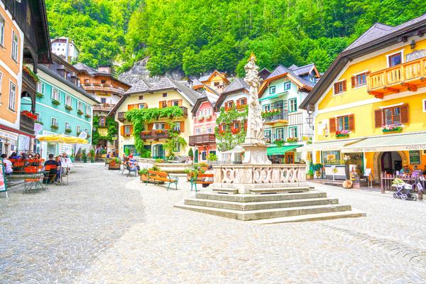Picturesque Hallstatt in the Upper Austria Alps 1 of 4 by 360 Studios