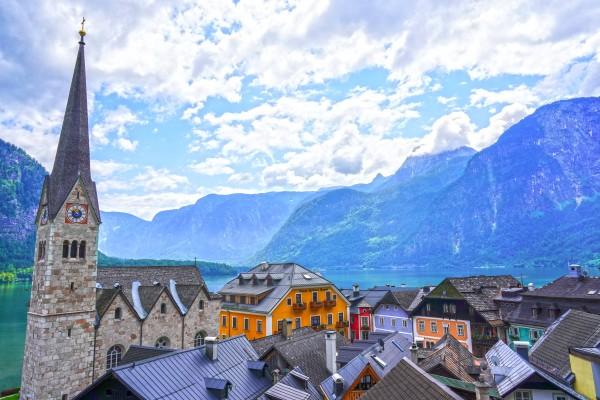 Picturesque Hallstatt in the Upper Austria Alps 4 of 4 by 360 Studios