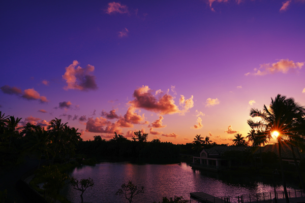 Sunrise over the Lagoon in Kauai Digital Download