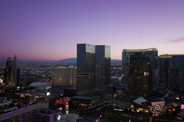 Sunset in Las Vegas Nevada USA by 360 Studios