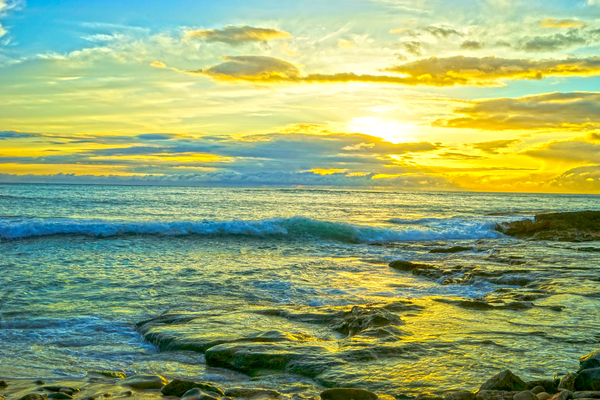 Sunset in Paradise   Hawaii Digital Download