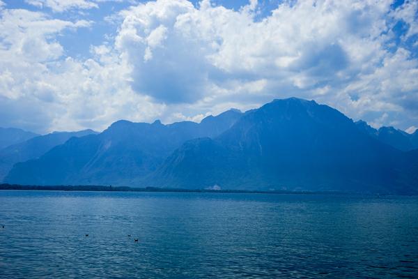 The Chablais Alps Viewed Across Lake Geneva by 360 Studios