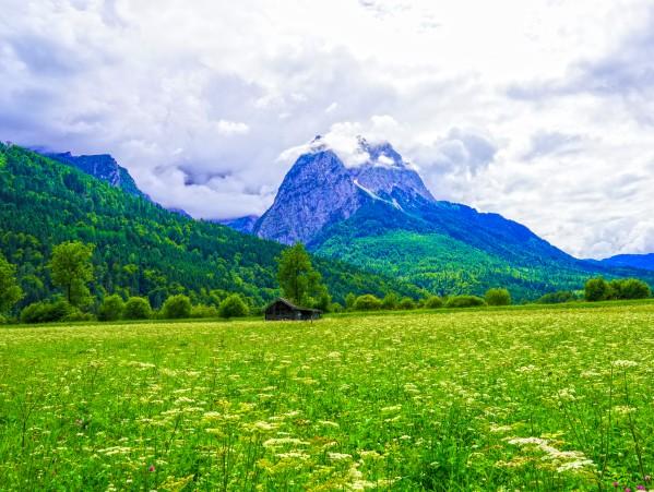 Waxenstein Mountain in the Bavarian Alps near Garmisch Partenkirchen by 360 Studios