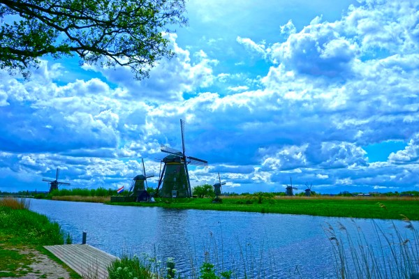 Windmills of the Netherlands 2 of 4 Digital Download