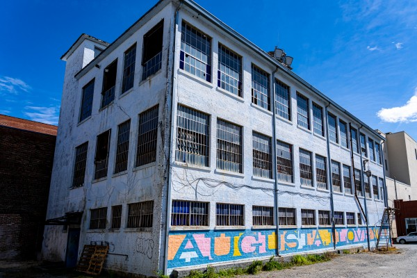 Augusta I Love You Mural GA 02990 by @ThePhotourist